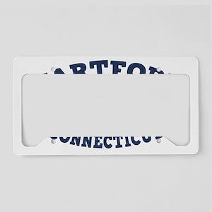 souv-whale-hartford-CAP License Plate Holder