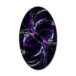 Possibilities, Cosmic Purple 35x21 Oval Wall Decal