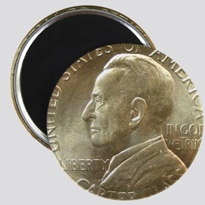 Lynchburg VA Sesquicentennial Half Dollar C Magnet