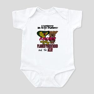 I BELIEVE IN FREE CHOICE! Infant Bodysuit