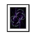 Possibilities, Cosmic Purple Framed Panel Print