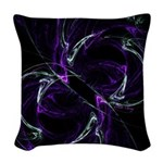 Possibilities, Cosmic Purple Woven Throw Pillow