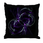 Possibilities, Cosmic Purple Throw Pillow