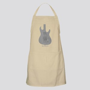 """Sketch"" Guitar BBQ Apron"