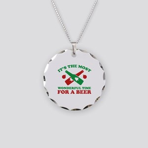 It's The Most Wonderful Time For A Beer Necklace C