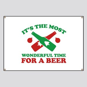 It's The Most Wonderful Time For A Beer Banner