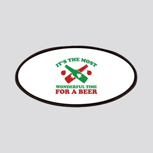 It's The Most Wonderful Time For A Beer Patches