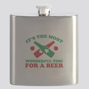 It's The Most Wonderful Time For A Beer Flask