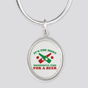 It's The Most Wonderful Time For A Beer Silver Ova