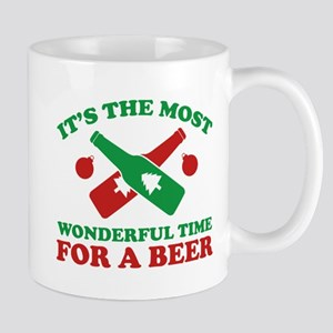 It's The Most Wonderful Time For A Beer Mug