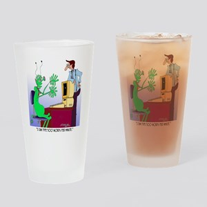 500 Words Per Minute Drinking Glass