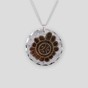 (Sol Taino) Taino Sun, Symbo Necklace Circle Charm