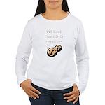 """""""We Love Our Little Peanut"""" Women's Long Sleeve T"""