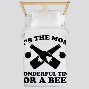 It's The Most Wonderful Time For A Beer Twin Duvet