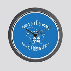 Restore our Democracy Wall Clock