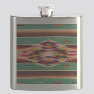 Southwest Weaving Flask