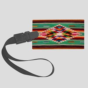 Southwest Weaving Large Luggage Tag