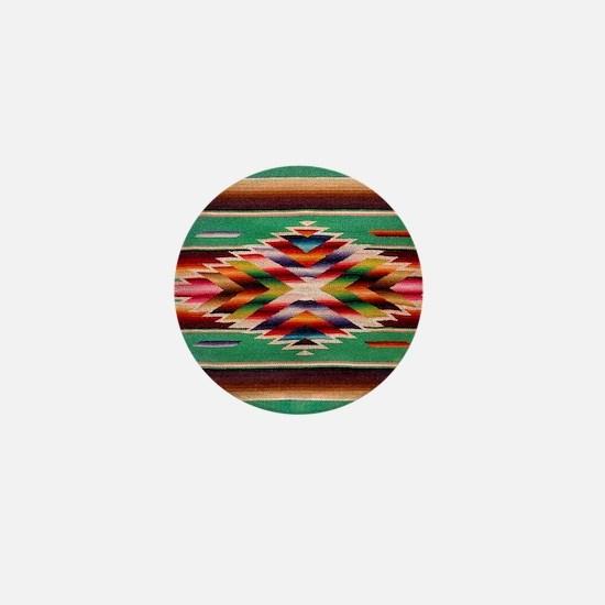 Southwest Weaving Mini Button