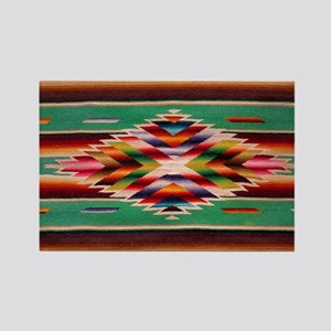 Southwest Weaving Rectangle Magnet