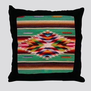 Southwest Weaving Throw Pillow