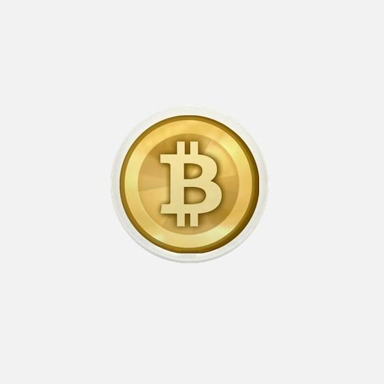 BitCoin Gold Mini Button
