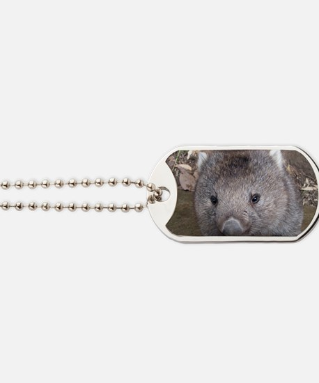 Young Wombat Dog Tags