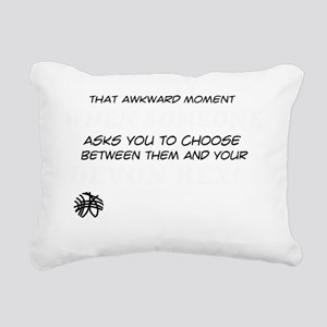 Funny gifts for the Devo Rectangular Canvas Pillow