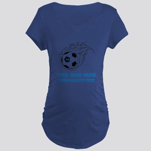 Soccer Maternity T-Shirt