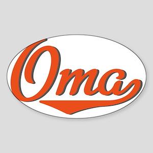 Oma Sticker (Oval)
