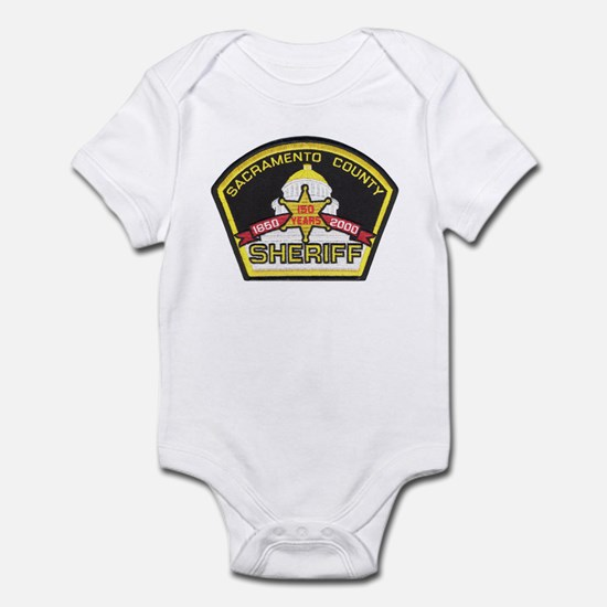 Sacramento County Sheriff Infant Bodysuit