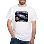 Awesome God White T-Shirt (Hebrews 4.13)