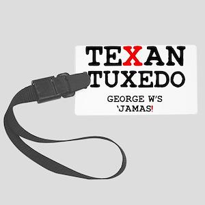 TERXAN TUXEDO Large Luggage Tag