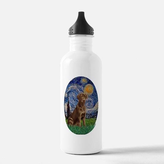 Starry Night Lab (Choc Water Bottle