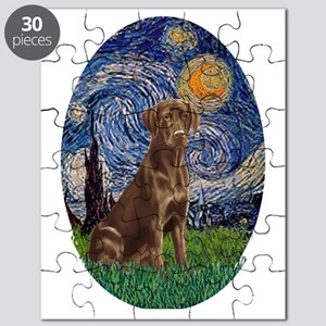 Starry Night Lab (Choc) Puzzle
