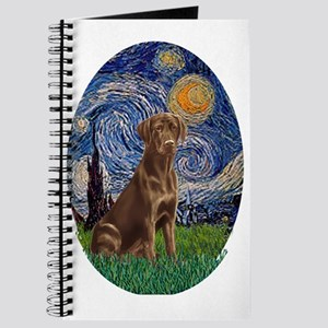 Starry Night Lab (Choc) Journal