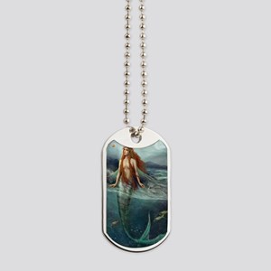 Mermaid of Coral Sea Dog Tags