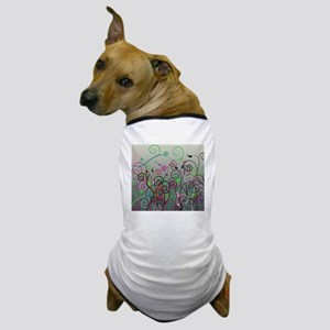 Cool Swirl Pattern 3g Dog T-Shirt