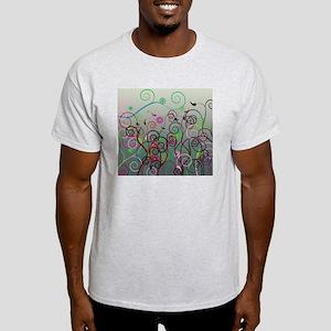 Cool Swirl Pattern 3g Light T-Shirt
