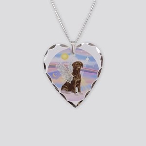 ORN - Clouds - Lab Angel (Cho Necklace Heart Charm