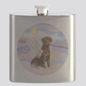 ORN - Clouds - Lab Angel (Choc) Flask