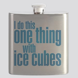 ice cubes Flask