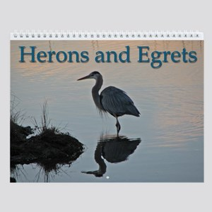 Herons And Egrets Wall Calendar