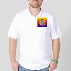 Texas Independence Centennial Half Doll Golf Shirt