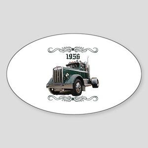 1956 KW Oval Sticker