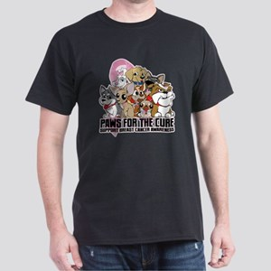 BC Paws for the Cure Dark T-Shirt