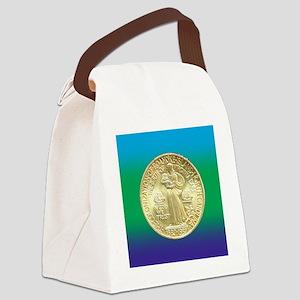 Roanoke Island NC 350th Anniversa Canvas Lunch Bag