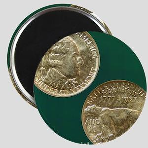 Vermont Sesquicentennial Half Dollar Coin  Magnet