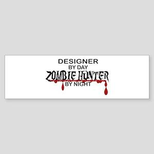 Zombie Hunter - Designer Sticker (Bumper)