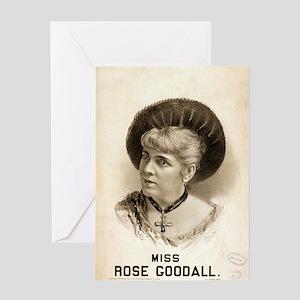Miss Rose Goodall - Metropolitan Litho - 1879 Gree