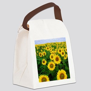Sunflowers Canvas Lunch Bag